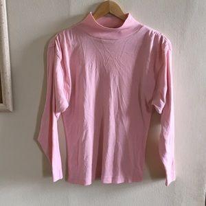 Vintage forenza light pink turtleneck